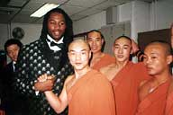 Shaolin Monks Royal Variety Performance Lennox Lewis